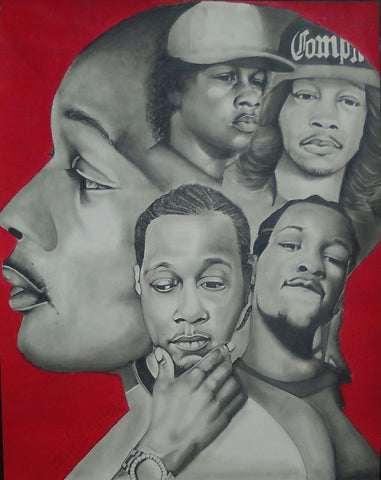 DJ Quik Legends  Artwork - Print / Canvas