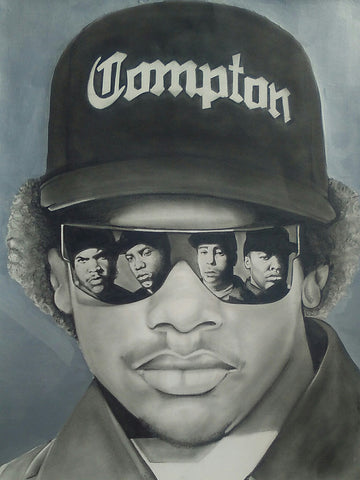 EAZY E / NWA Artwork - Print / Canvas