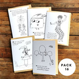 Colour Our Story - GIFT CARDS (5X PACK)