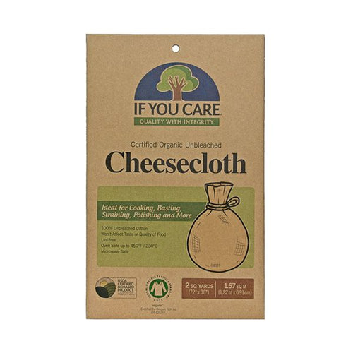 ON THE WAY! If You Care Organic Cheesecloth