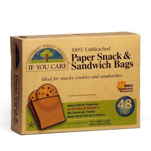 If You Care Sandwich Bags - 48x Pack