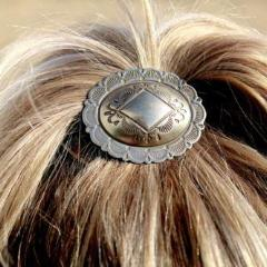 'Consuela' Concho Pony Tail Holder