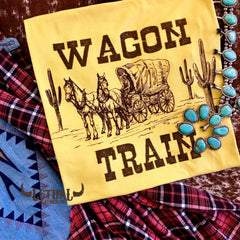 'Wagon Train' Graphic Tee