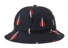 Banks II Bucket Hat - Black/Red