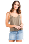 Bounds Cami - Faded Olive