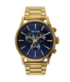 Sentry Chrono - Gold/Blue Sunray