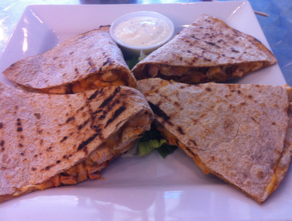 Buffalo Chicken (Quesadilla or Wrap)