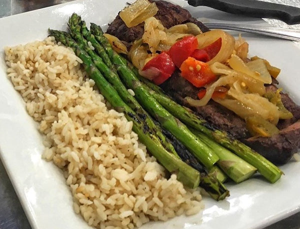 Grilled Steak Meal