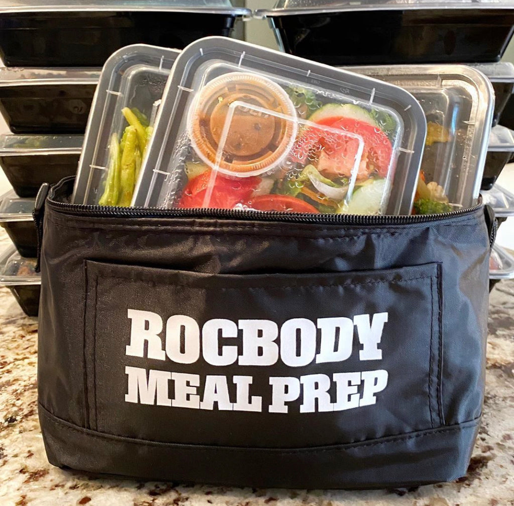 3-Rocbody Meal Insulated Cooler Bag (Black)