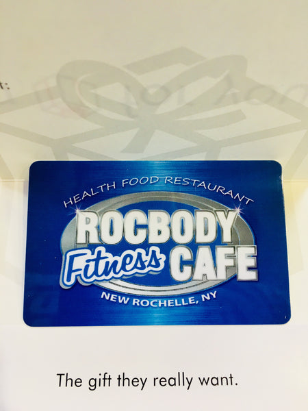 Rocbody Fitness Cafe Gift Card