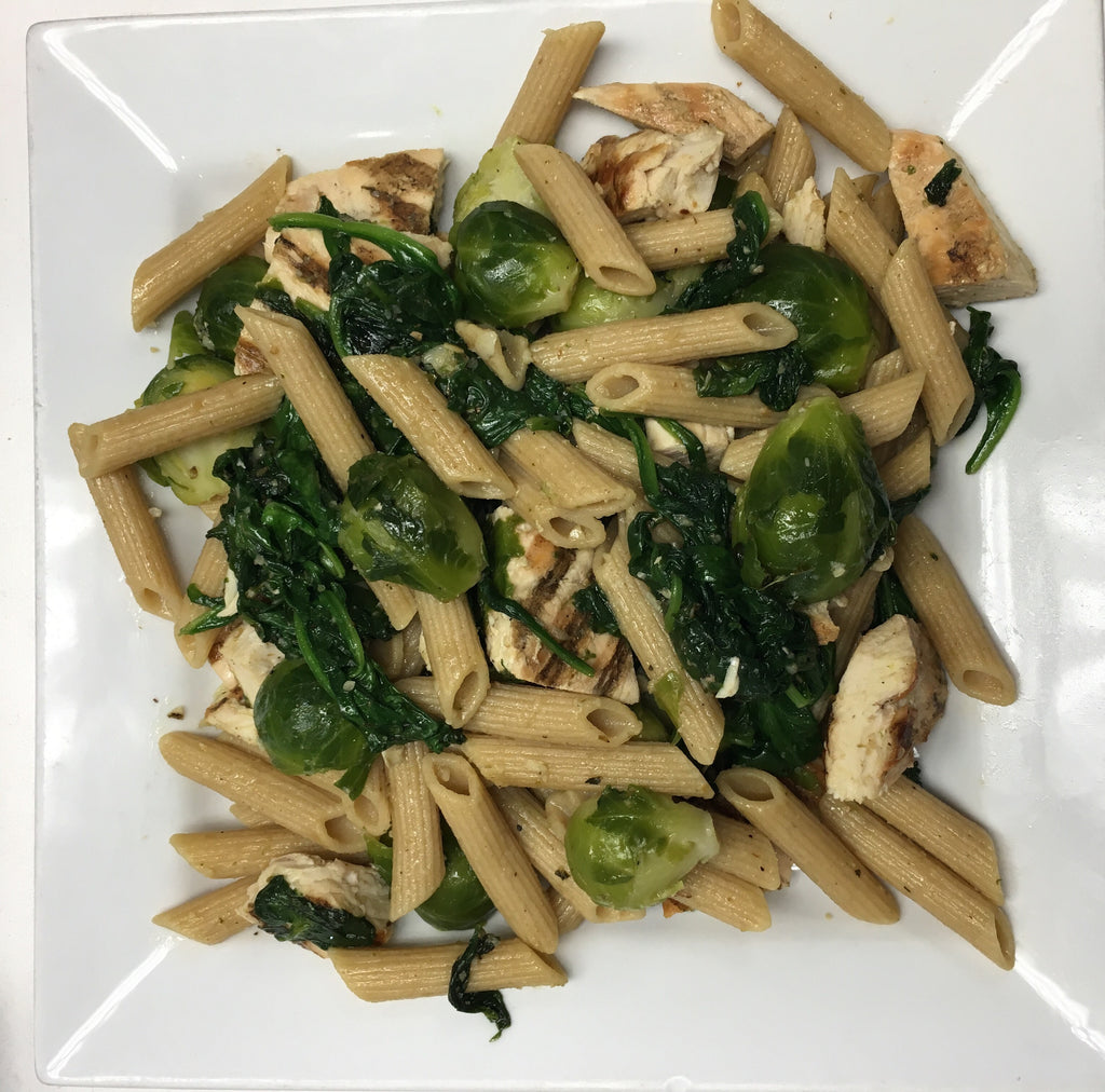 Pasta with Brussels Sprouts!