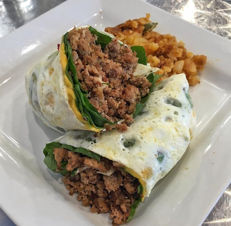 Turkey Eggwhite Wrap