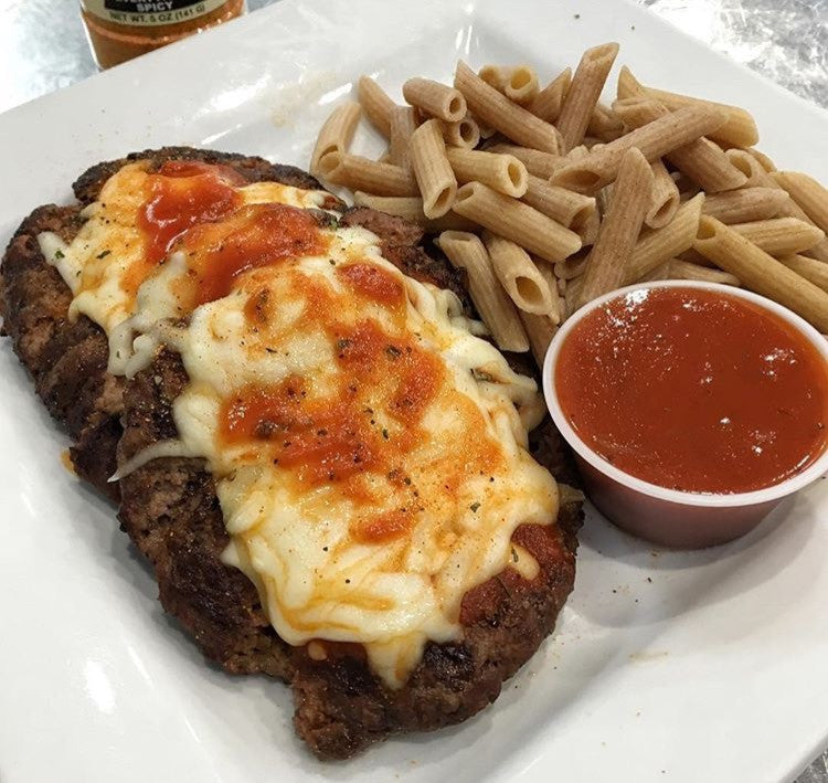 Bison Burger Parm