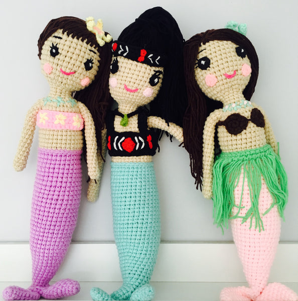 Pacific Island Mermaids
