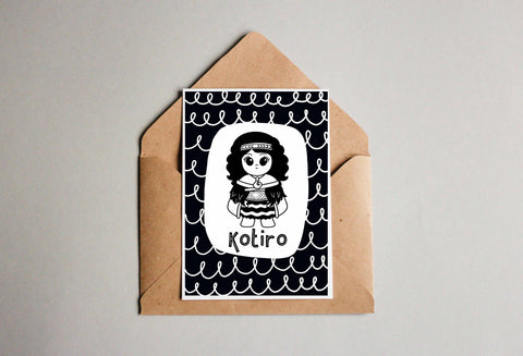 Kotiro Greeting Card