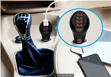 Electronics-Multi Purpose Car Charger Adapter With 4 USB Ports (Black or White)
