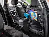 Organization-Car Seat Back Protector Kick Mat with Holder for Touch Screen iPad and Tablets