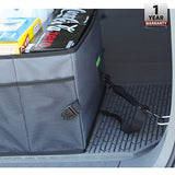 Organizer-Car Trunk Organizer, Collapsible Toy, Grocery, or Office Automotive Carrier Tote
