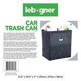 Car Trash Basket-Car Garbage Can With Cover for Car Seat Headrest Or Floor