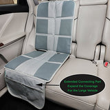 Seat Protector-Child Baby Car Seat Protector in Gray