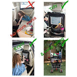 Organizer-Car Back Seat Organizer With Touch Screen Pocket Tablet Holder