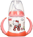 Sippy Cup-NUK Hello Kitty Learner Cup with Silicone Spout 5oz