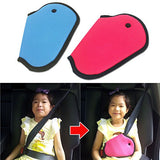 Seat Belt Adjuster-Child Seat Belt Strap Adjuster (Blue or Pink)