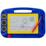 Travel Games-Magnetic Drawing Board, Colorful Kids Writing Sketching Pad
