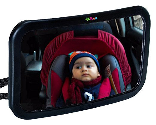 Baby Car Mirror-Extra Large Car Mirror for Rear Facing Baby