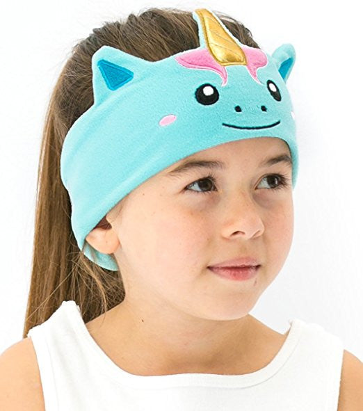 Kids Volume Limited Headphones with Soft Fleece Headband - Multiple Animal Designs