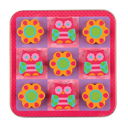 Owl Magnetic Tic Tac Toe Set