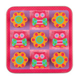 Travel Games-Owl Magnetic Tic Tac Toe Set
