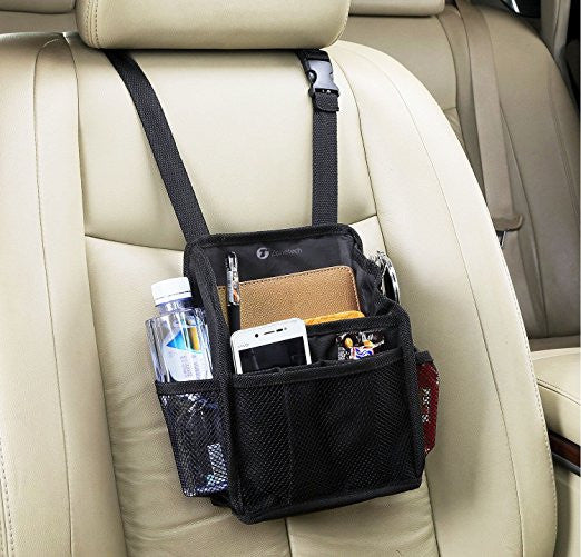 7-Pocket Organizer for Back Seat Headrest