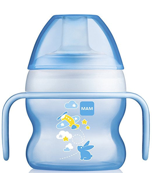 MAM Starter Cup with Handles for Boys 5oz