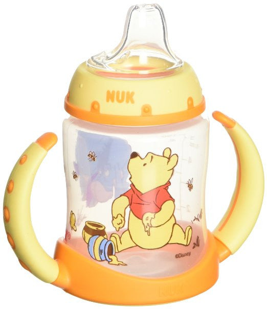 Sippy Cup-Disney Winnie The Pooh Learner Cup Silicone Spout 6m+