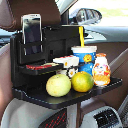 Multipurpose Handy Car Food Tray for Headrest