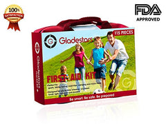 First Aid Kit-115 Piece First Aid Kit Ideal for Injuries & Medical Emergency