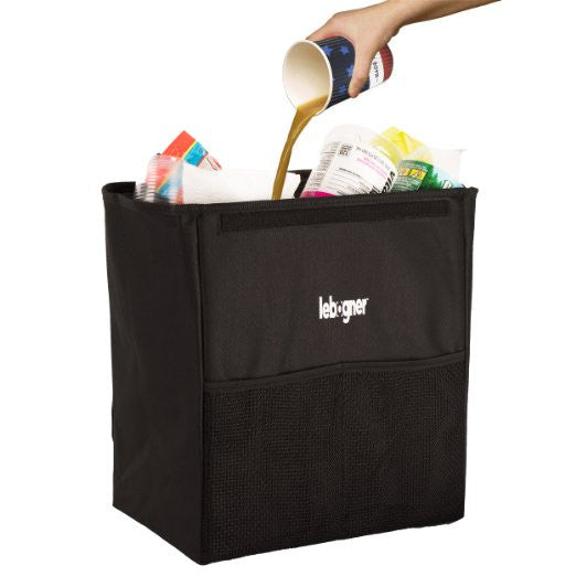 Car Garbage Can With Cover For Car Seat Headrest Or Floor