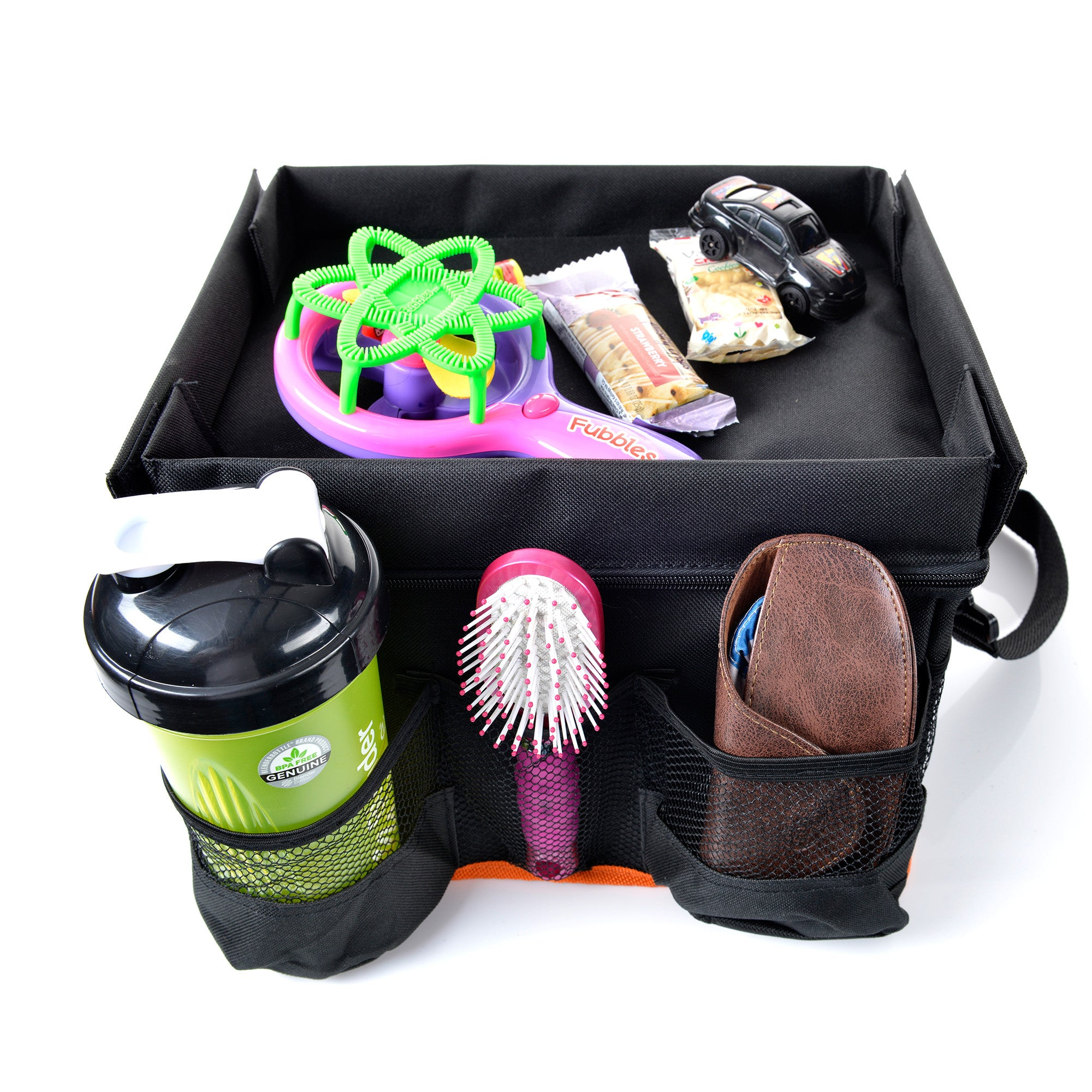 Organizer-Backseat Car Organizer for Kids with Play Tray and Cup Holders