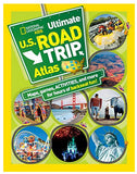 Book-National Geographic Kids Ultimate U.S. Road Trip Atlas