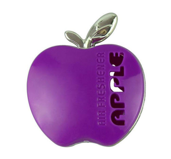 Air Freshener-Cute Design Apple Shaped Car Air Freshener - Multiple Colors and Fragrances