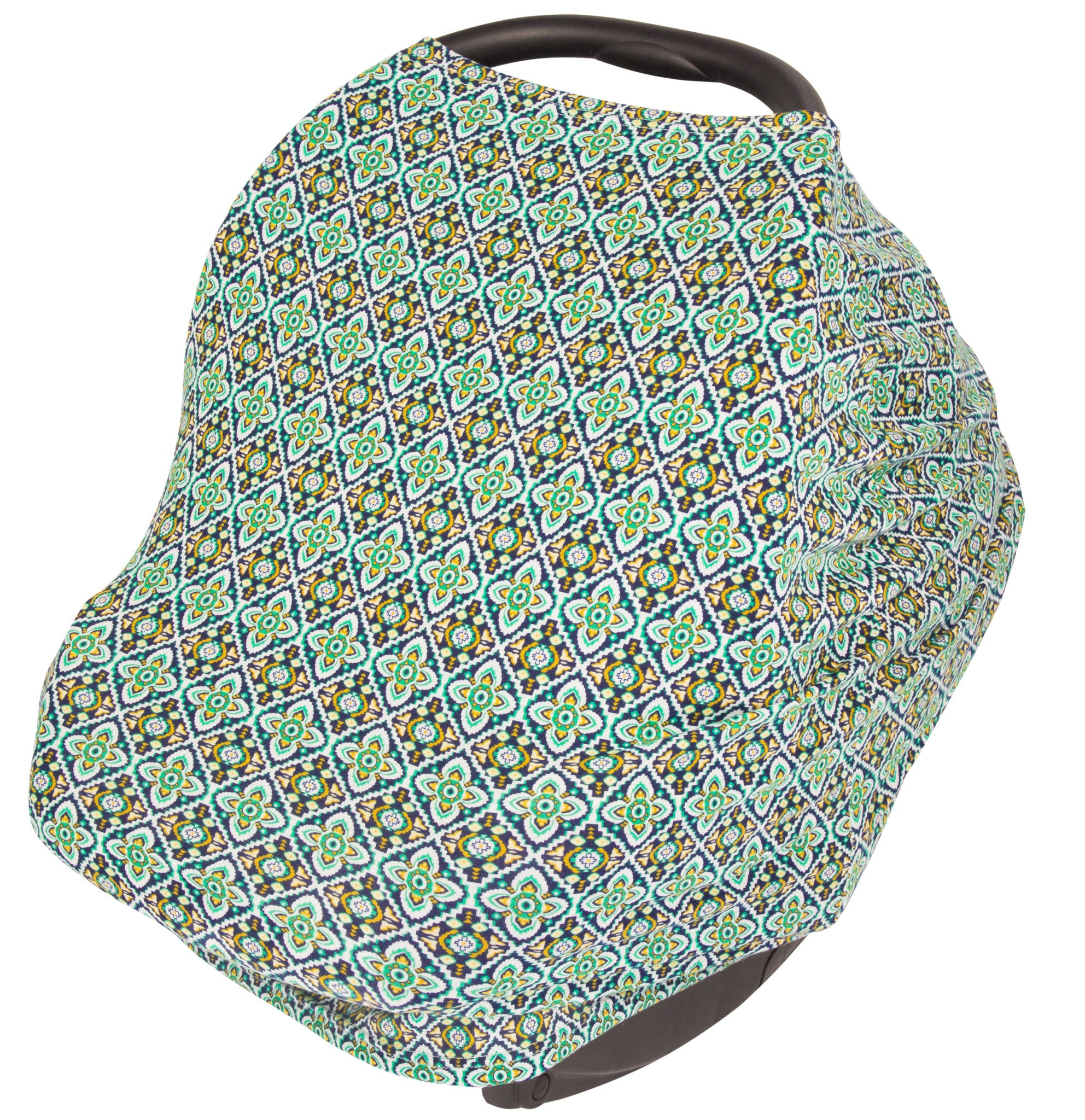 Carseat Canopy Stretchy Baby Car Seat Cover And Nursing Multiple Colors