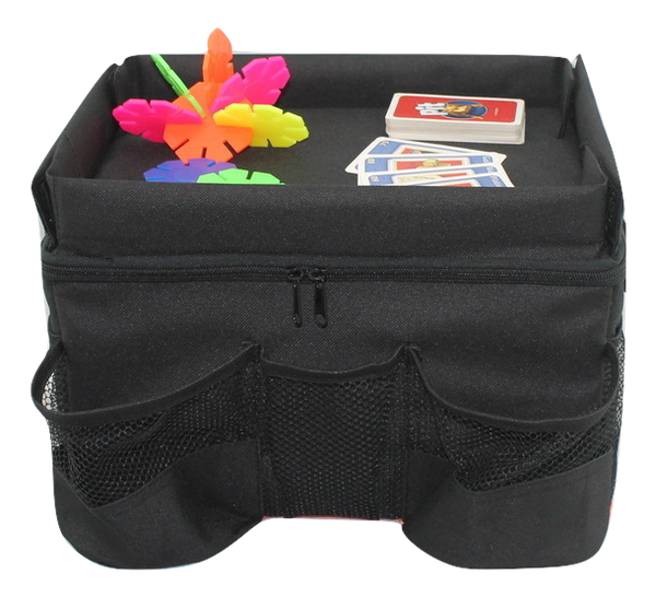 Backseat Car Organizer For Kids With Play Tray Brats On