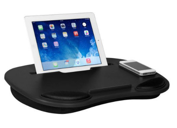 Play Tray-Media Travel Lap Desk for Notebook, Tablets and Phones - Multiple Colors