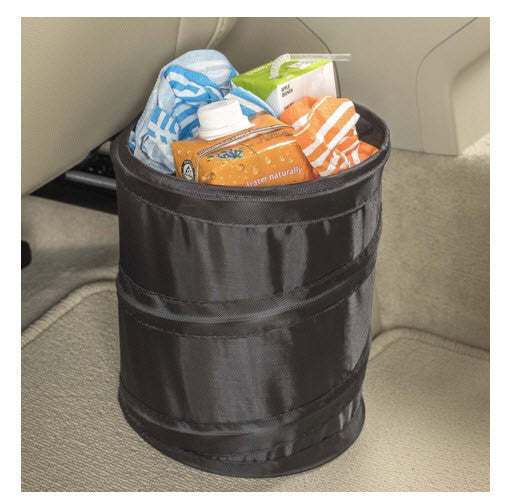 Pop-Up Leakproof Car Trash Bin