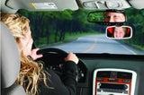 Mirror-Attachable Extra Rear-View Mirror For Child Safety