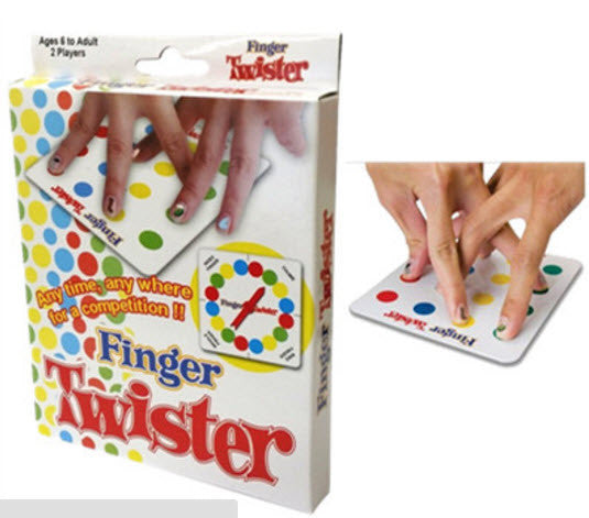 Finger Twister Travel Game