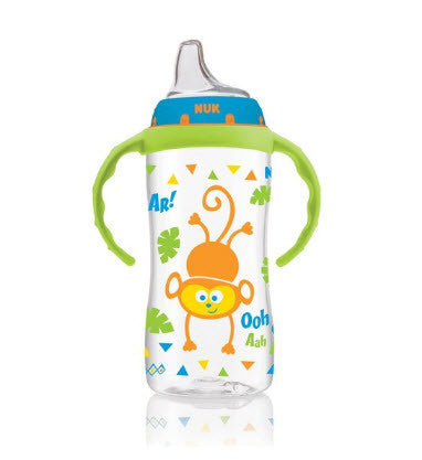 Food and Drink Storage-NUK Jungle Designs Large Learner Cup in Patterns