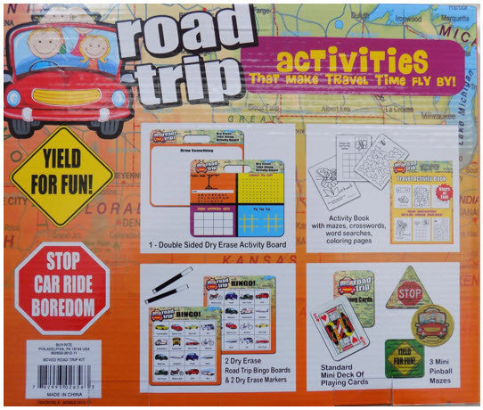 Road Trip - Activities That Make Travel Time Fly By!