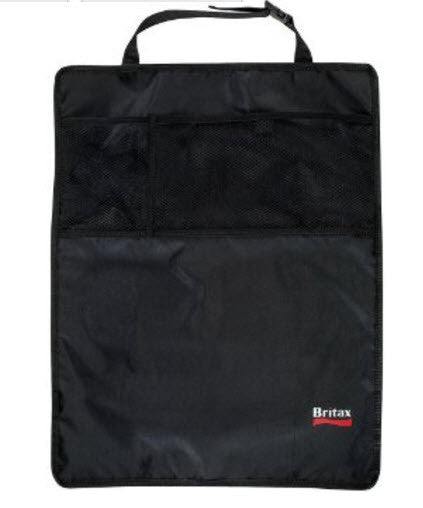 Pack of 2 Britax Kick Mats To Protect Seat Backs (Black)